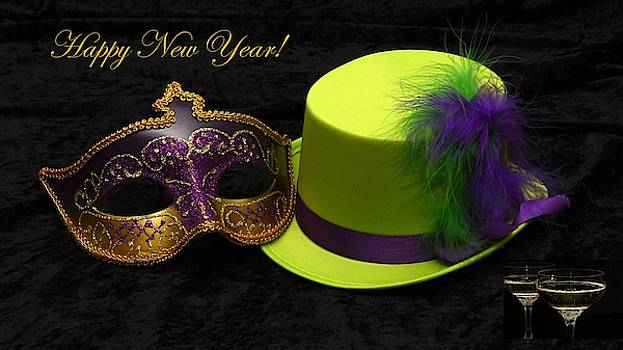 Nancy Ayanna Wyatt - Happy New Year Hat and Mask