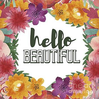 Priscilla Wolfe - Hello Beautiful Typography