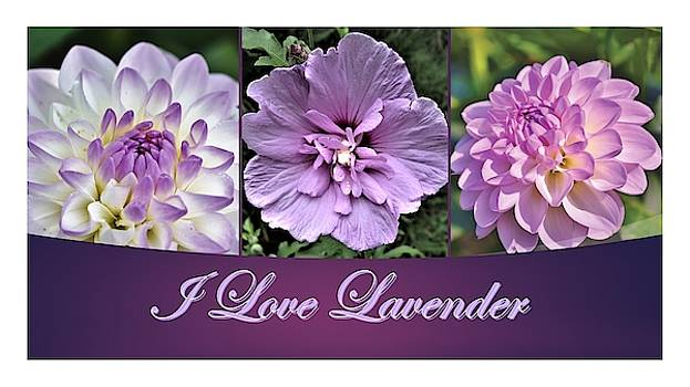 Nancy Ayanna Wyatt and Capri23auto - I Love Lavender