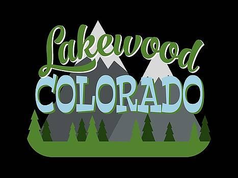 Flo Karp - Lakewood Colorado Retro Mountains Trees
