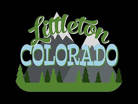 Flo Karp - Littleton Colorado Retro Mountains Trees