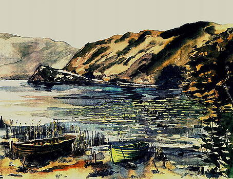 Val Byrne - Waterlily Bay, Lough Currane, Waterville, Kerry