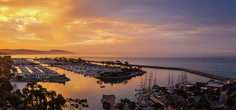 Cliff Wassmann - Morning Colors Dana Point Harbor