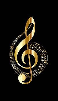 Nancy Ayanna shares Gordon Johnson - Music Treble Clef
