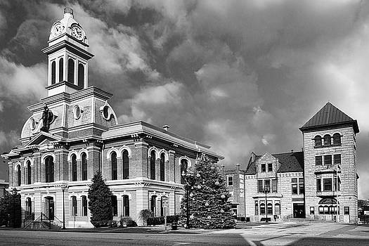 Sharon Popek - Scott County Courthouse and City Hall BW
