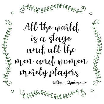 Priscilla Wolfe - Shakespeare Quote