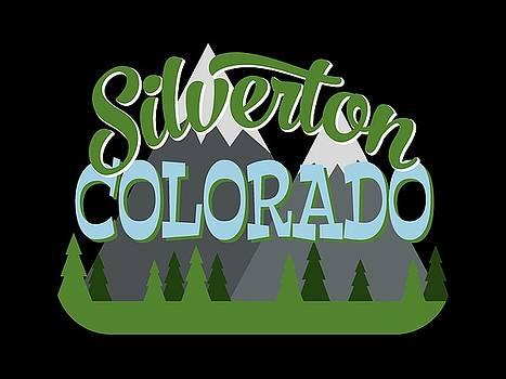 Flo Karp - Silverton Colorado Retro Mountains Trees
