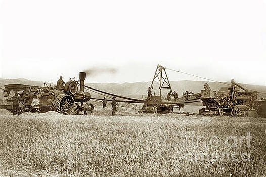 California Views Archives Mr Pat Hathaway Archives - Steam Tractor,  Hay Wagon and steam threshing machine Salinas Valley