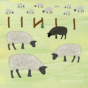 Priscilla Wolfe - Counting Sheep