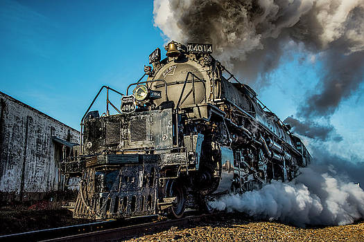 David Morefield - Union Pacific 4014 Big Boy in Color