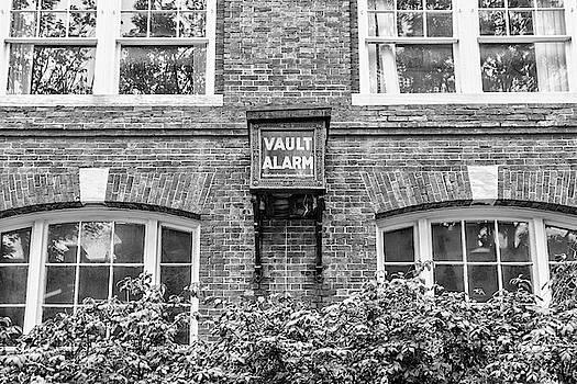 Sharon Popek - Vault Alarm black and white