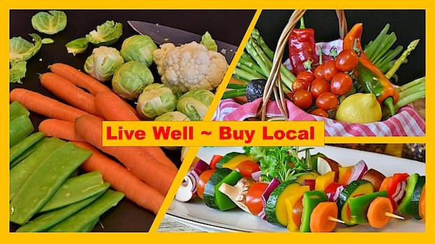 Nancy Ayanna Wyatt and Rita E - Veggies Buy Local