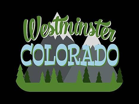 Flo Karp - Westminster Colorado Retro Mountains Trees