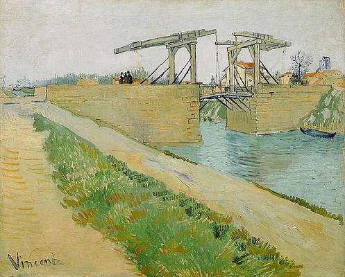 Langlois Bridge Print by Vincent van Gogh