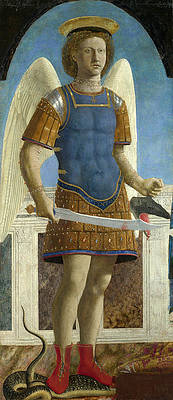 Featured Art - Saint Michael by Piero della Francesca
