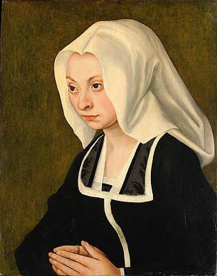 Portrait of a Woman Print by Lucas Cranach the Elder