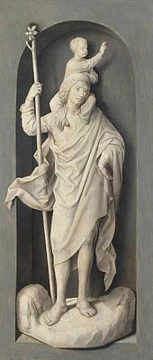 Saint John the Baptist Print by Hans Memling