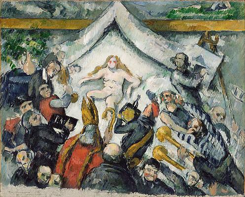 The Eternal Feminine Print by Paul Cezanne