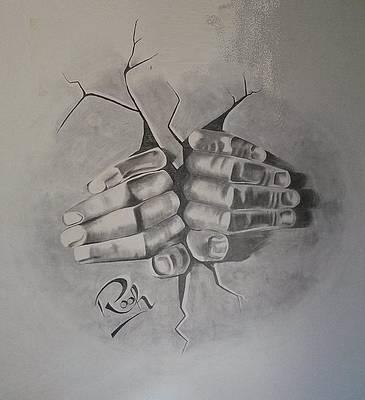 Wall Art Drawing By Syed Rooh U Llah