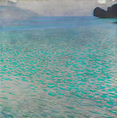 Attersee Print by Gustav Klimt