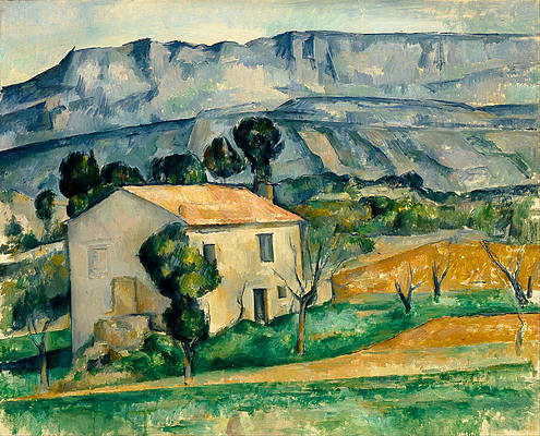House in Provence Print by Paul Cezanne