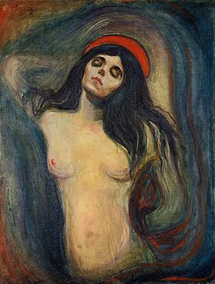 Madonna Print by Edvard Munch