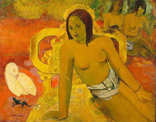 Vairumati Print by Paul Gauguin