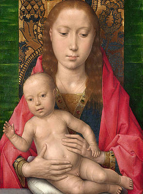 Virgin and Child Print by Hans Memling