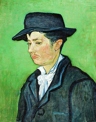 Portrait of Armand Roulin Print by Vincent van Gogh