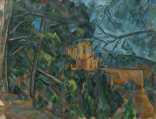 Chateau Noir Print by Paul Cezanne