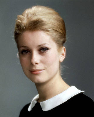 news agency associated reporters France Catherine Deneuve Wall decoration portrait 1965 Authentic Film Photography