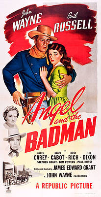 Arizona bad man Reb Russell vintage movie poster print