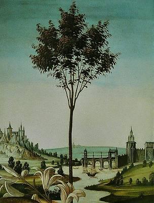 Annunciazione di Cestello Print by Sandro Botticelli