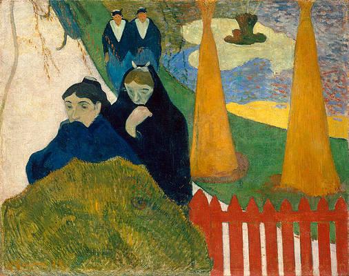 Arlesiennes.Mistral Print by Paul Gauguin