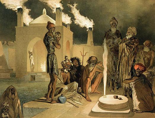 Zoroastrian Art | Fine Art America