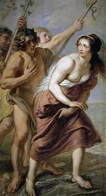 Bacchus and Ariadne Print by Erasmus Quellinus II
