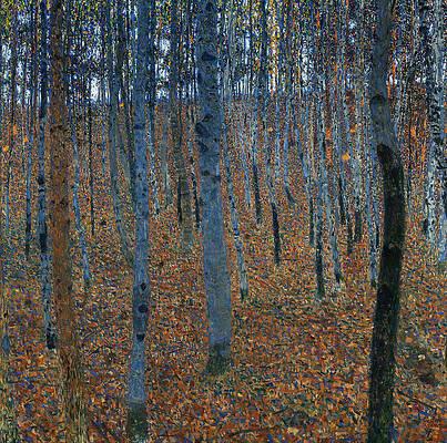 Beech Grove I Print by Gustav Klimt