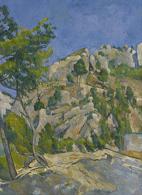 Bottom of the Ravine Print by Paul Cezanne