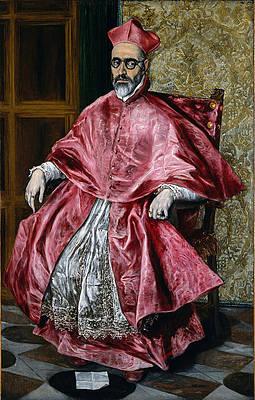 Cardinal Fernando Nino de Guevara Print by El Greco