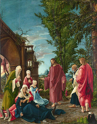 Featured Art - Christ taking Leave of his Mother by Albrecht Altdorfer