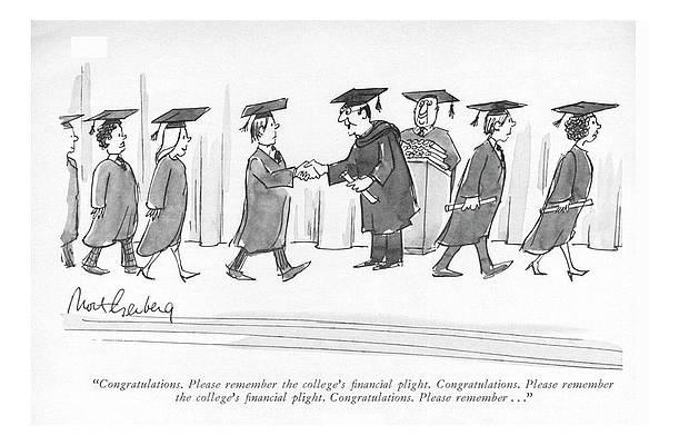 Graduation Cap Drawing - Congratulations. Пожалуйста, помните о колледже