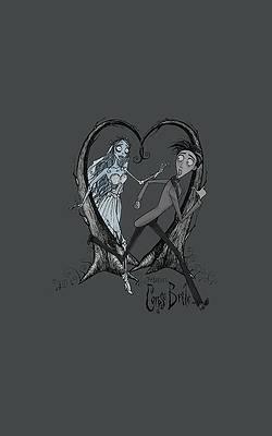corpse bride inspired Victor Van Dort poster print wall art decor merchandise