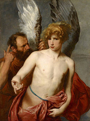 Daedalus and Icarus Print by Anthony van Dyck