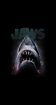 Jaws Terror Adult Work Shirt