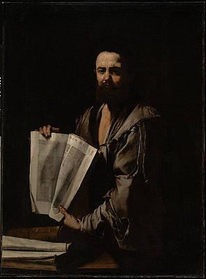 Euclid Print by Jusepe de Ribera