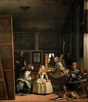 Las Meninas. The Maids of Honour Print by Diego Velazquez