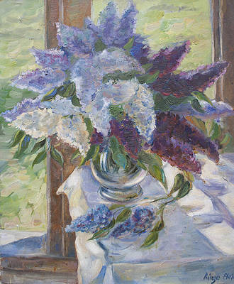 Norris Paint by#S Bunch of Lilacs Paint by#