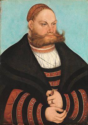 Lukas Spielhausen Print by Lucas Cranach the Elder