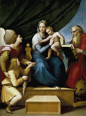Madonna with the Fish Print by Raphael