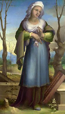 Marcia Print by Domenico Beccafumi